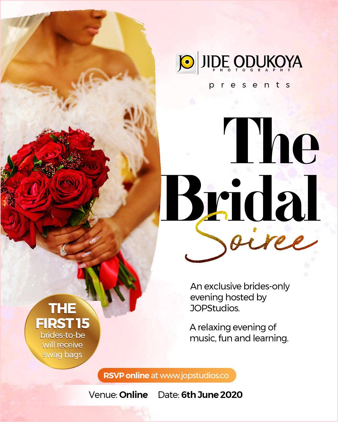 JOPStudios Bridal Soiree in June 2020