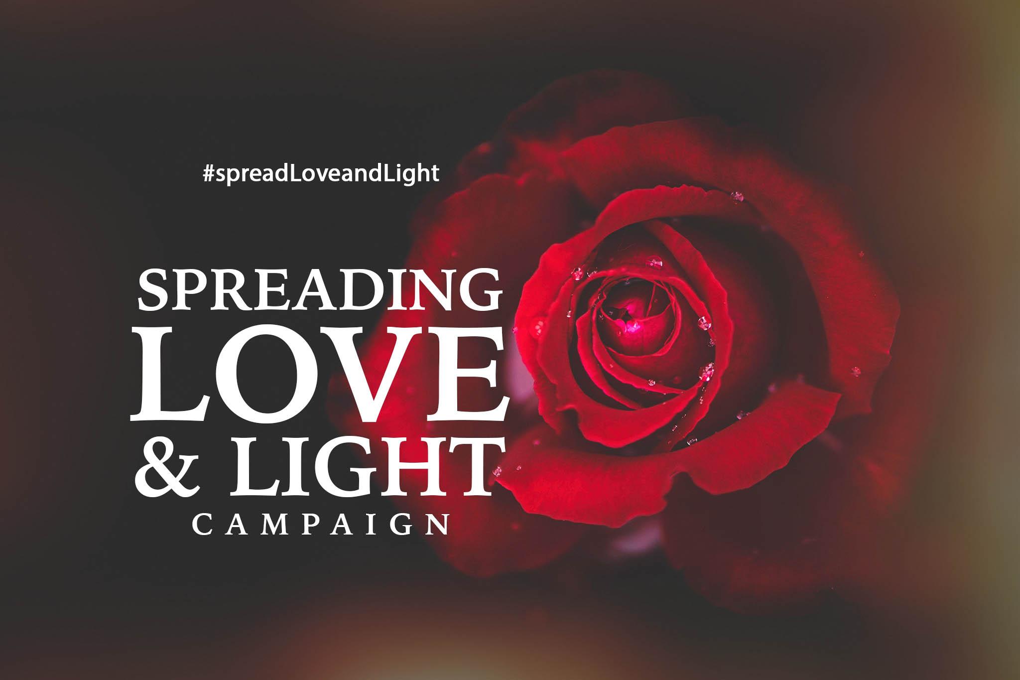 JOPStudios Spread Love and Light Campaign